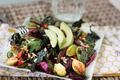 Detox Salad by eatingbirdfood #Salad #Detox