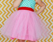 CANDY SHOP PINK Tutu Party Dress for baby toddler girl.... first birthday party dress portrait  or special occasion