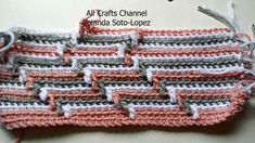 How to crochet Apache Tears pattern for blanket #Crochet this fun zig zag pattern, it is sure to become a favorite. This pattern can be worked with single crochet or double crochet. Make your beginning cha...