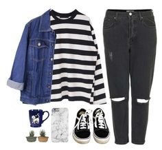 """""""Space"""" by soym ❤ liked on Polyvore featuring Topshop and Vans"""