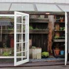 Urban Gardener: A Sliver of a Greenhouse for a Small Space Gardenista