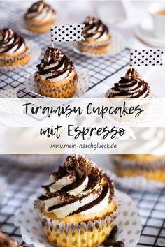 Tiramisu Cupcake Rezept mit Espresso und Mascarponecreme
