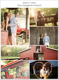 farm engagement session<3 I love her dress!!!