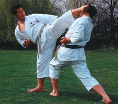Sensei Masao Kagawa outside the Dojo. Master Self-Defense to Protect Yourself