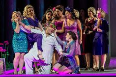 Simon O'Neill as Parsifal with the Flowermaidens in Parsifal © ROH / Clive Barda 2013