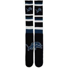 Detroit Lions For Bare Feet Squad Stripe Tube Socks