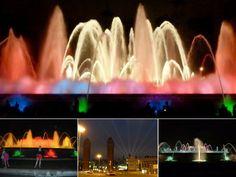 Magic Fountain of Montjuïc - Highlights of Barcelona – The Girls Who Wander Magic Fountain, The Girl Who, Wander, Highlights, Barcelona, Spain, Girls, Little Girls, Daughters