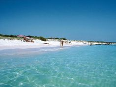 Es Trenc beach, in Campos  Mallorca