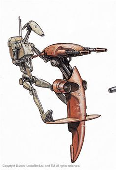 Battle Droid STAP