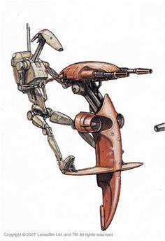 Battle Droid STAP
