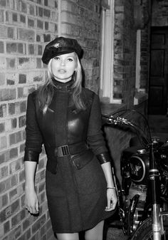 Kate Moss is Biker Cool for Matchless Fall 2013 By Terry Richardson