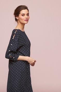 Brooke Pinspot shirt Dress Types Of Sleeves, Cold Shoulder Dress, Shirt Dress, Fabric, Shirts, Dresses, Style, Fashion, Vestidos