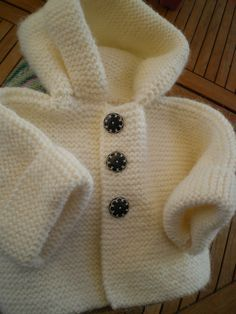 Layette Pregnancy pregnancy or period Baby Knitting Patterns, Baby Cardigan Knitting Pattern Free, Knitting For Kids, Baby Patterns, Free Knitting, Knitting Projects, Crochet Patterns, Vest Pattern, Knit Vest