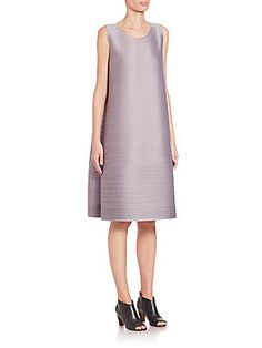 Pleats Please Issey Miyake Light Bounce A-Line Dress