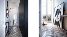 My Little Home Blog // Un appartement parisien revue par la 3D de l'agence INT2