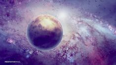 RAIN IN SPACE @432Hz Cosmic Music for Sleep & Lucid Dreaming | Sleeping ...