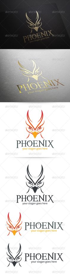 Phoenix Logo — Vector EPS #head #eagle • Available here → https://graphicriver.net/item/phoenix-logo/5869740?ref=pxcr