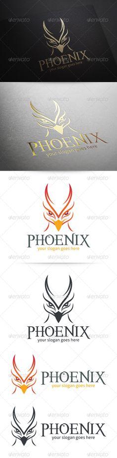 Phoenix Logo — Vector EPS #head #eagle • Available here → https://graphicriver.net/item/phoenix-logo/5869740?ref=pxcr
