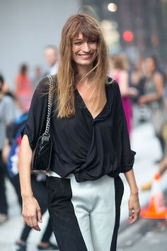 Street Style: New York Fashion Week Spring 2014 - Caroline de Maigret
