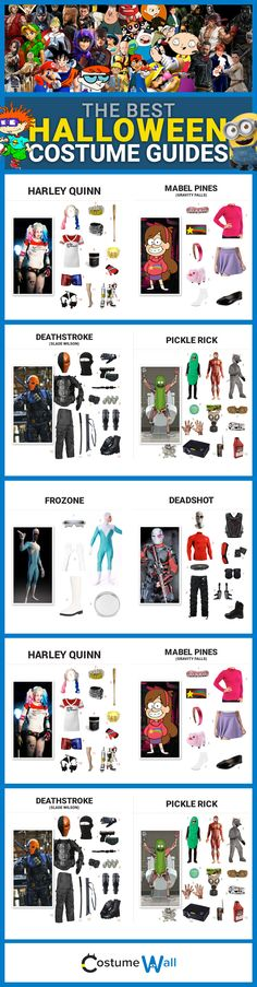 Find costume ideas and cosplay guides from Costume Wall. Dress like your favorite TV, movie, and video game characters for Halloween.