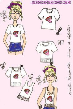 – Customizando camisetas