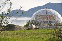 Geodesic Dome in Norway SolarDome PRO http://www.solardome.co.uk