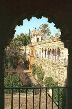 Reales Alcázares de #Sevilla…