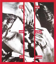 Les Beehive – Artist and writer Barbara Kruger studied at Parsons School of… Barbara Kruger Art, Diane Arbus, Small World, Women Artist, Montage Photo, Identity Art, Feminist Art, A Level Art, Conceptual Art
