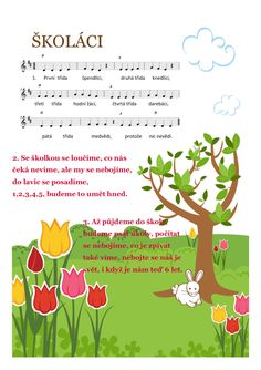 Školáci – Muzika ve škole – MUZIKA VE ŠKOLE Montessori, Crafts For Kids, Kindergarten, Preschool, Songs, Activities, Education, Music, Kid