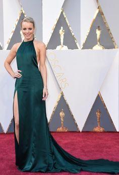 Oscars Dresses 2016: Rachel McAdams in August Getty Atelier