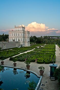 Il Casino del Bel Respiro, Villa Pamphili, Rome, Italy. (by luigig75 on Flickr) Lazio