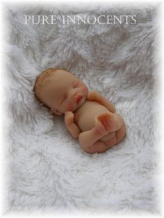 Ooak Full Sculpt Newborn Baby  Realistic Hand by PureInnocents, $30.00