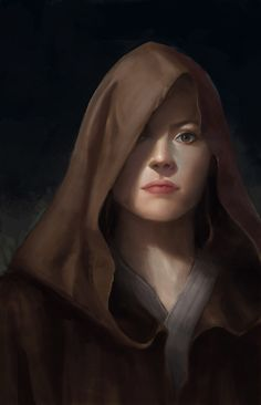 Master Rey Portrait Art #epicartwork #starwars #BAE