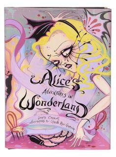 Illustrated Alice in Wonderland Book | PLASTICLAND