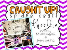 Caught Up! {Spider Craft FREEBIE}