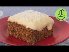 Kremalı Havuçlu Kek - Havuçlu Tarçınlı Kek Tarifi - Muhallebili Kek - YouTube