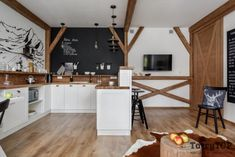 Otwarta kuchnia z półwyspem - Lovingit.pl