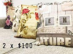 CUPON PROMO!! 2X100 Fundas de almohadon