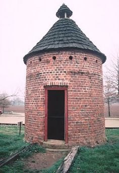 Dovecote at Shirley Plantation in Virginia