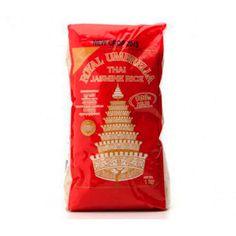 Arroz alargado y perfumado. Es el arroz más preciado en Tailandia. Para acompañar cualquier plato