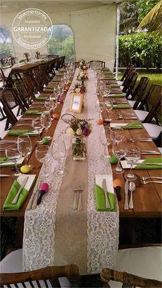 Mesa rustica #LoveMemoriesWeddings #Weddings #BeachWeddings #DestiantionWeddings