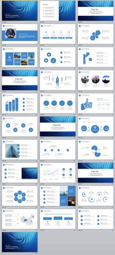 Powerpoint design by power design for wellness bold beautiful 31 blue business premium presentation powerpoint template toneelgroepblik Image collections
