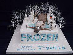 disneys frozen cake - Google Search