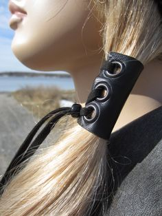 biker leather jewelry - Google Search