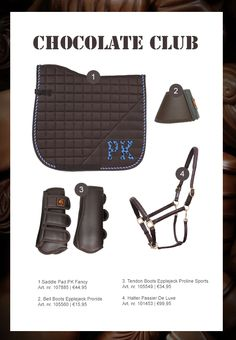 The Saddlepad, PK Fancy, is also available in grey/pink and dark blue/red. Chocolate Club, English Horse Tack, Horse Riding Clothes, Tack Sets, Horse Fashion, Horse Supplies, Saddle Pads, Winter Collection, Equestrian