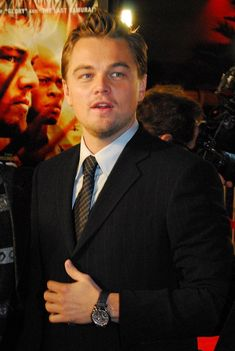 See pictures of Leonardo DiCaprio wearing a Jaeger-LeCoultre Master Control Minute Repeater watch. Leonardo Dicaprio, Evolution Of Fashion, Luxury Watch Brands, Important People, Brand Ambassador, Sport, Best Actor, Watches, Me As A Girlfriend