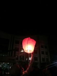 #Event #media #information #college  kind of kite and hot-air ballon for praying luck in front of my school building!