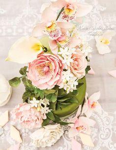 Wafer paper flowers - meravigliosi, delicatissimi fiori di ostia