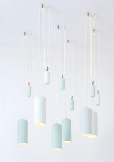 Studio WM - Porcelain Lamp, 2013