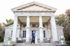 The Temple - Holkham Hall wedding venue in Norfolk. Photography, courtesy of Katherine Ashdown www.katherineashdown.co.uk